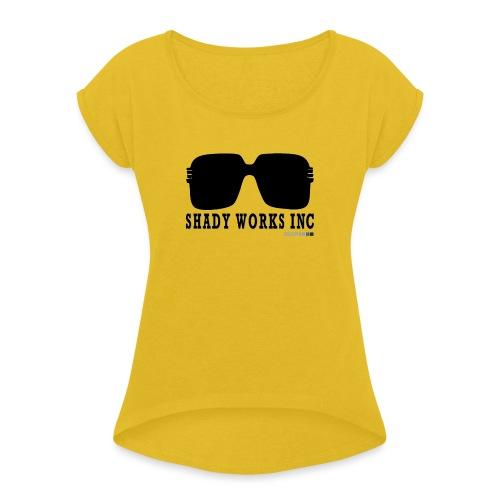 shady works inc creative crew 0 1 - Dame T-shirt med rulleærmer