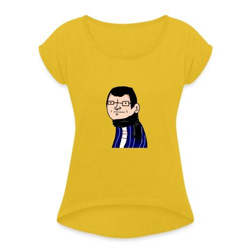 La collection de l'ancien wankul ChromeTiX - T-shirt à manches retroussées Femme