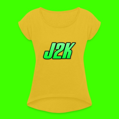official J2K Day 1 Edition - Women's T-Shirt with rolled up sleeves