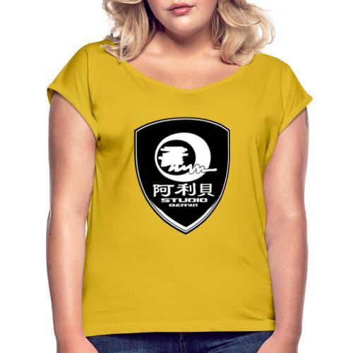 Ecusson BERYA Studio - T-shirt à manches retroussées Femme