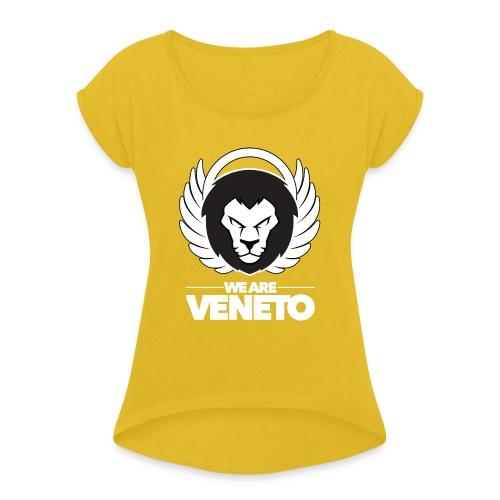 We Are Veneto - Maglietta da donna con risvolti