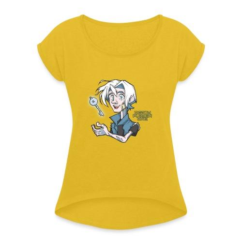 Parzival - Camiseta con manga enrollada mujer