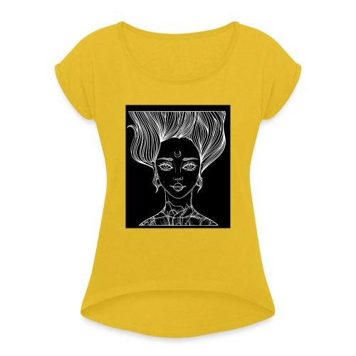 Luna - Maglietta da donna con risvolti