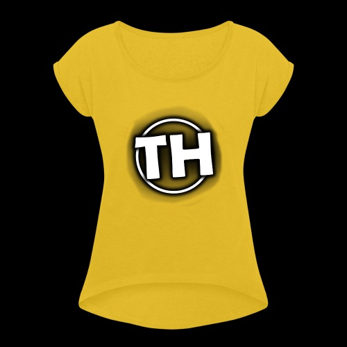 Men's TankTop - TooHard Logo 5 - Women's T-Shirt with rolled up sleeves