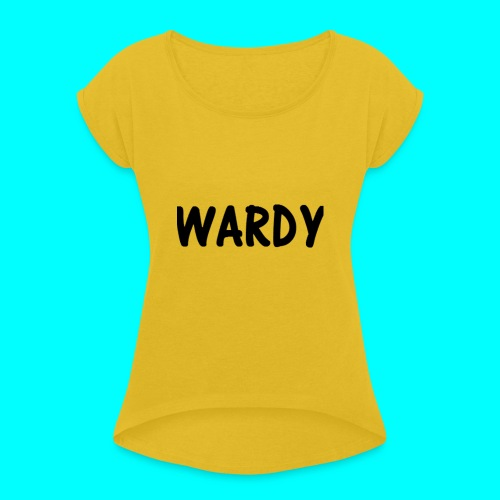 Wardy - Women's T-Shirt with rolled up sleeves
