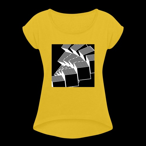 Squares - Maglietta da donna con risvolti