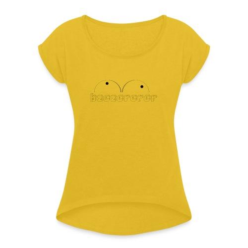 PCLP3 - T-shirt à manches retroussées Femme