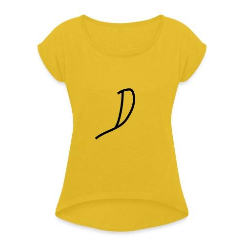 Diznye official - T-shirt à manches retroussées Femme