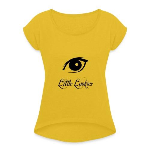 Little Lookies - T-shirt à manches retroussées Femme