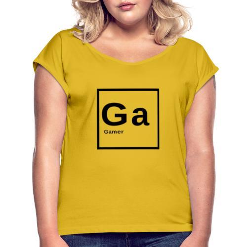Gamer - Maglietta da donna con risvolti