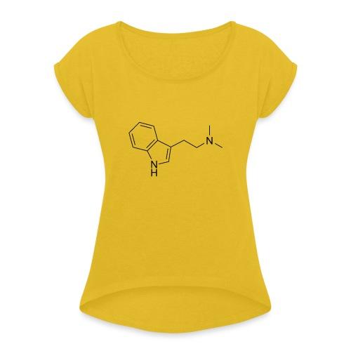 DMT - Maglietta da donna con risvolti