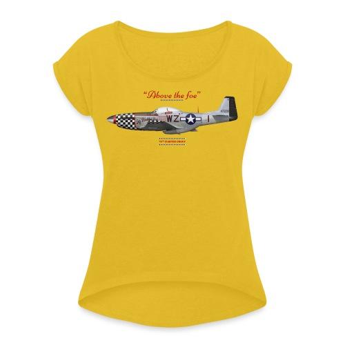 P 51 Big Beautiful Doll - T-shirt à manches retroussées Femme