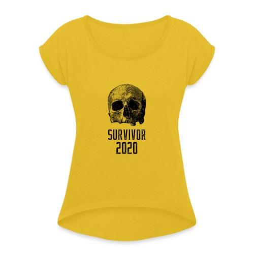 survivor 2020 - T-shirt à manches retroussées Femme