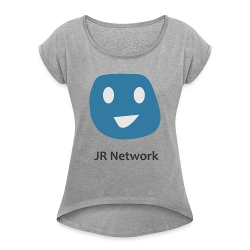 JR Network - Women's T-Shirt with rolled up sleeves