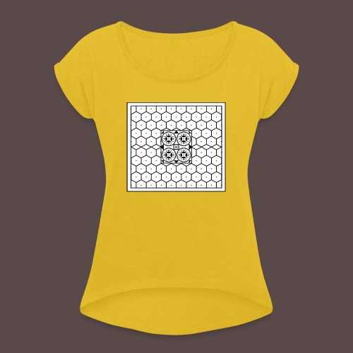 Baia - Mosaico romano - Maglietta da donna con risvolti