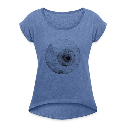 Eyedensity - Women's T-Shirt with rolled up sleeves