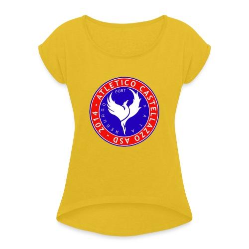 Logo Ufficiale Atletico Castellazzo - Maglietta da donna con risvolti