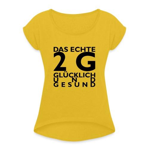 Resist 21.4 - Frauen T-Shirt mit gerollten Ärmeln
