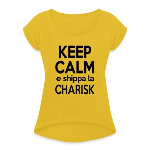 Shippa la Charisk - Maglietta da donna con risvolti