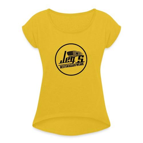 LOGO JEY S PNG - T-shirt à manches retroussées Femme