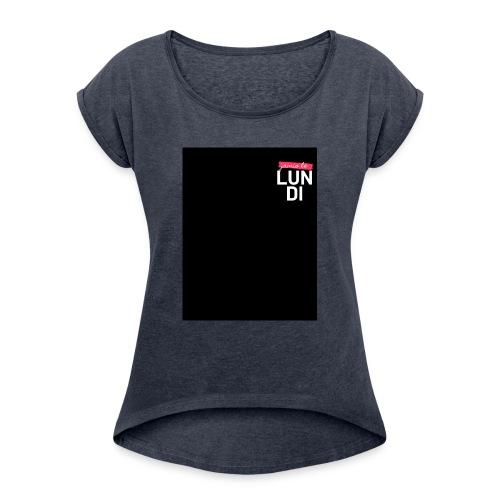 LUNDI - T-shirt à manches retroussées Femme