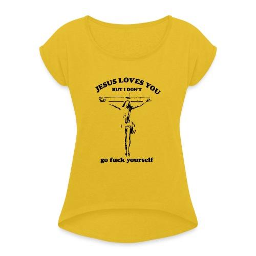 OTIS - Maglietta da donna con risvolti