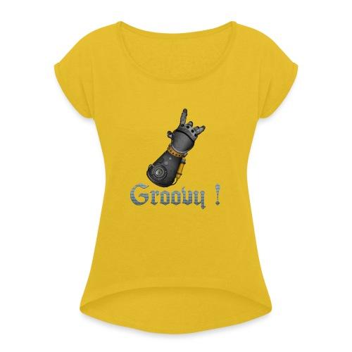 Dungeon Groovy ! - T-shirt à manches retroussées Femme