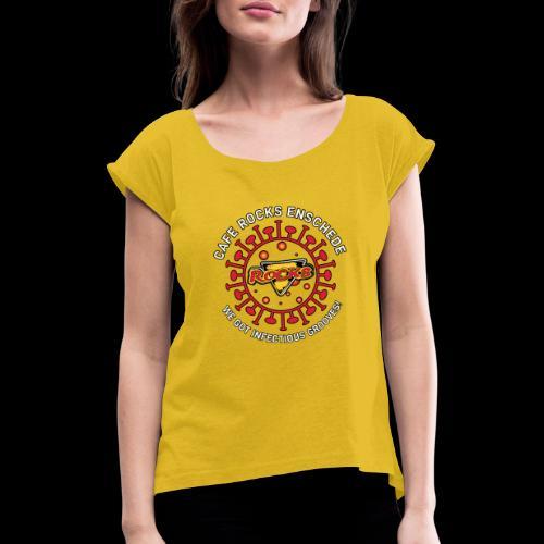 Infectious Grooves - Vrouwen T-shirt met opgerolde mouwen