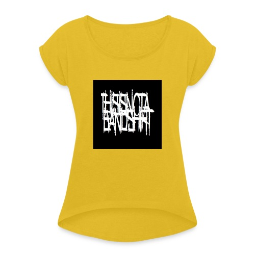 des jpg - Women's T-Shirt with rolled up sleeves