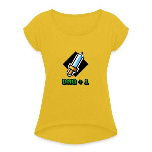 DMG+1 - Maglietta da donna con risvolti