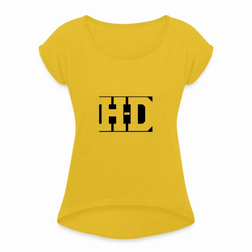 HDD - Women's T-Shirt with rolled up sleeves