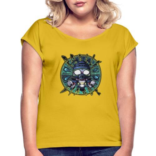 RailleDingue (400ppp - 40 - T-shirt à manches retroussées Femme