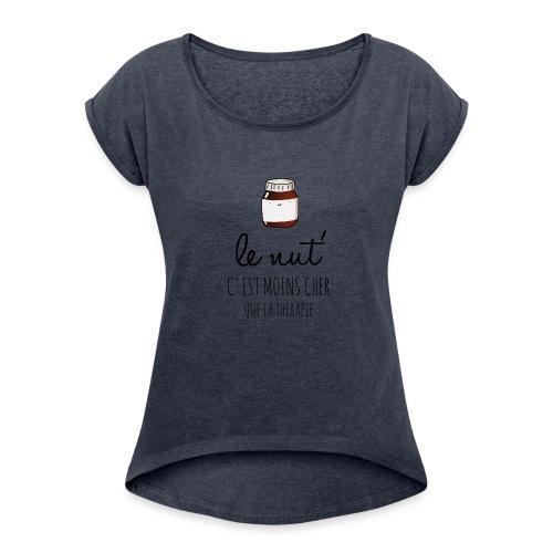 Le Nut' - T-shirt à manches retroussées Femme