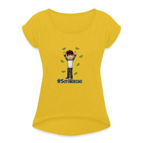 #SoyHelecho - Camiseta con manga enrollada mujer