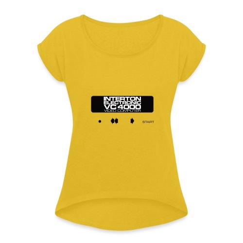 VC4000 - Frauen T-Shirt mit gerollten Ärmeln