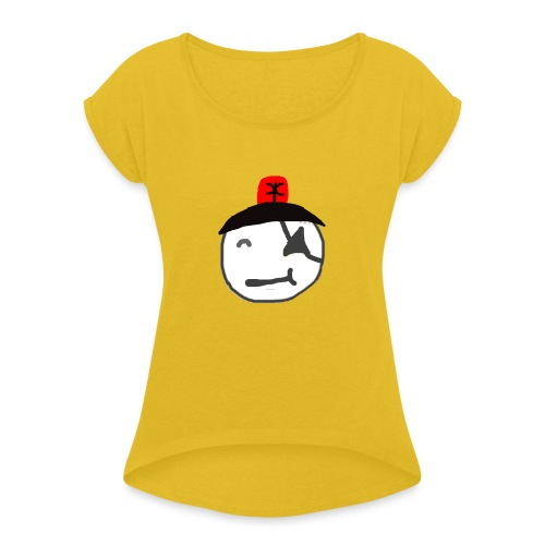 Alarm - Frauen T-Shirt mit gerollten Ärmeln
