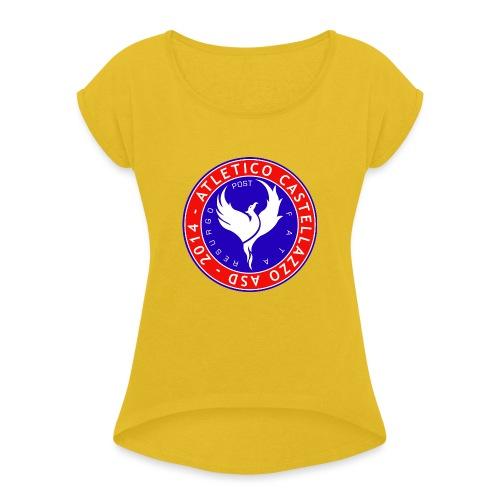 Atletico Castellazzo Logo Ufficiale - Maglietta da donna con risvolti