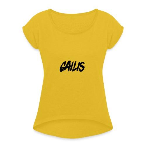 Gailis - T-shirt à manches retroussées Femme