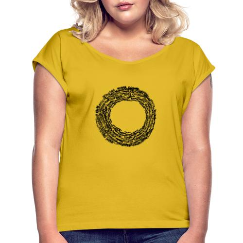 Changed Direction - Women's T-Shirt with rolled up sleeves