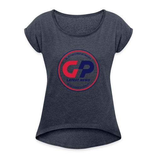 retro - Women's T-Shirt with rolled up sleeves