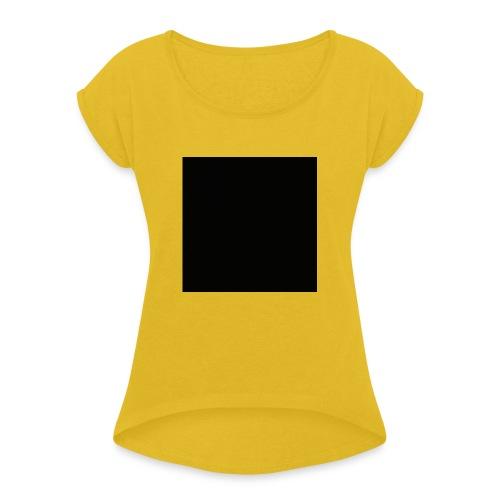 2121 Box - Frauen T-Shirt mit gerollten Ärmeln