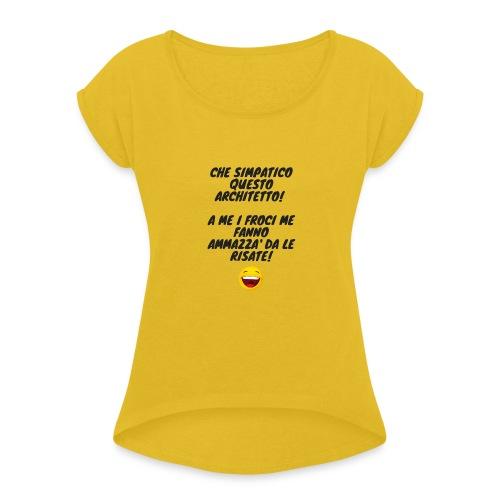 Architetto - Maglietta da donna con risvolti