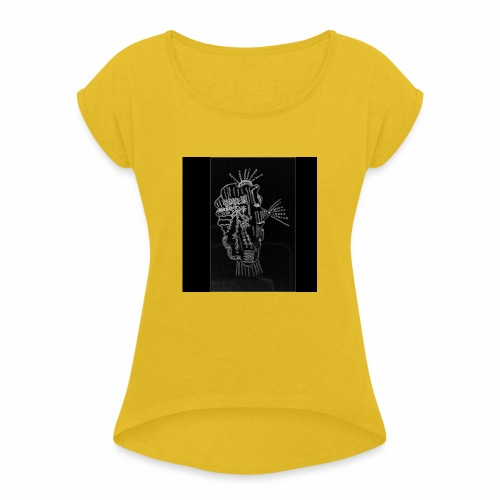 alieno - Maglietta da donna con risvolti