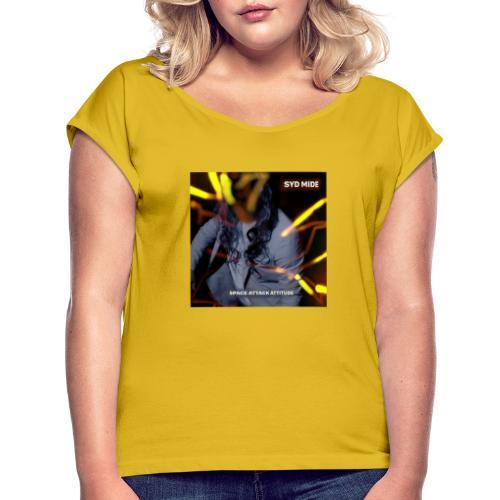 Syd Mide - Space Attack Attitude - Maglietta da donna con risvolti