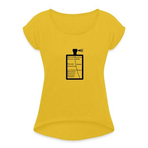 Layton - Frauen T-Shirt mit gerollten Ärmeln