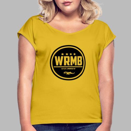 Balise principale - T-shirt à manches retroussées Femme