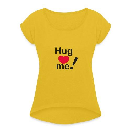 Abbracciccio-07 - Maglietta da donna con risvolti