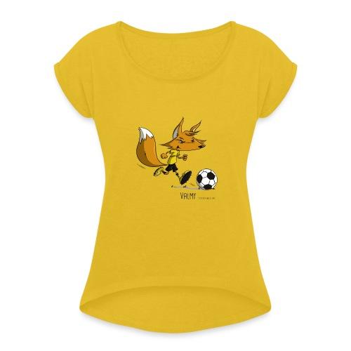Valmy mascotte - T-shirt à manches retroussées Femme
