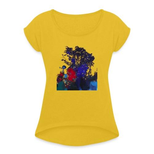 by Henrik Simonsen - Dame T-shirt med rulleærmer