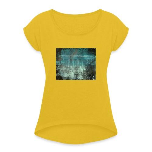 Shababa Tshirt - Dame T-shirt med rulleærmer